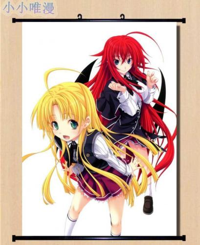 ✓Anime High School DxD Rias Gremory Home Decor Poster Wall Scroll