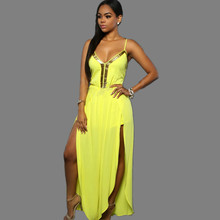 Spaghetti strap rompers womens jumpsuit,women sexy chiffon jumpsuits summer loose sexy night club rommpers,bodysuit TT1168