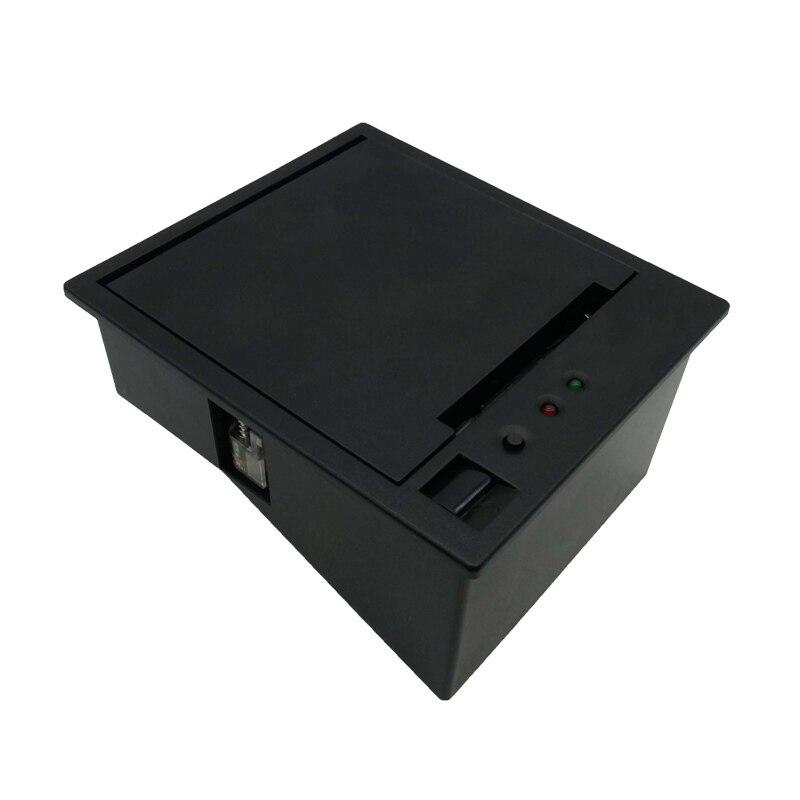где купить DC12V 2 inch thermal kiosk ticket printer with auto cutter with TTL or RS232 port support cash drawer по лучшей цене