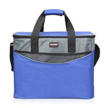 34L bardzo duża pogrubienie torba termiczna 600D Oxford torebka chłodząca izolowana torba na Lunch chłodnia torby świeże jedzenie pojemnik na piknik tanie tanio WDXRYKLA Żywności cooler bag TERMICZNE