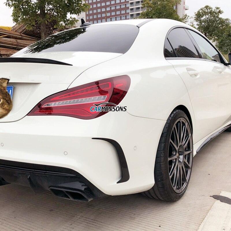 For Mercedes Benz CLA Class W117 C117 Sport Seden CLA 200 220 260 CLA 45 Fender Bumper Air Vent Stickers Trim Cover Accessories