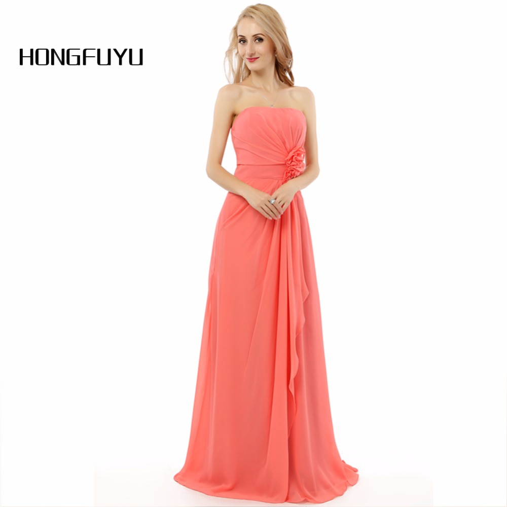 Buy peach bridesmaid dresses and get free shipping on aliexpress ombrellifo Images