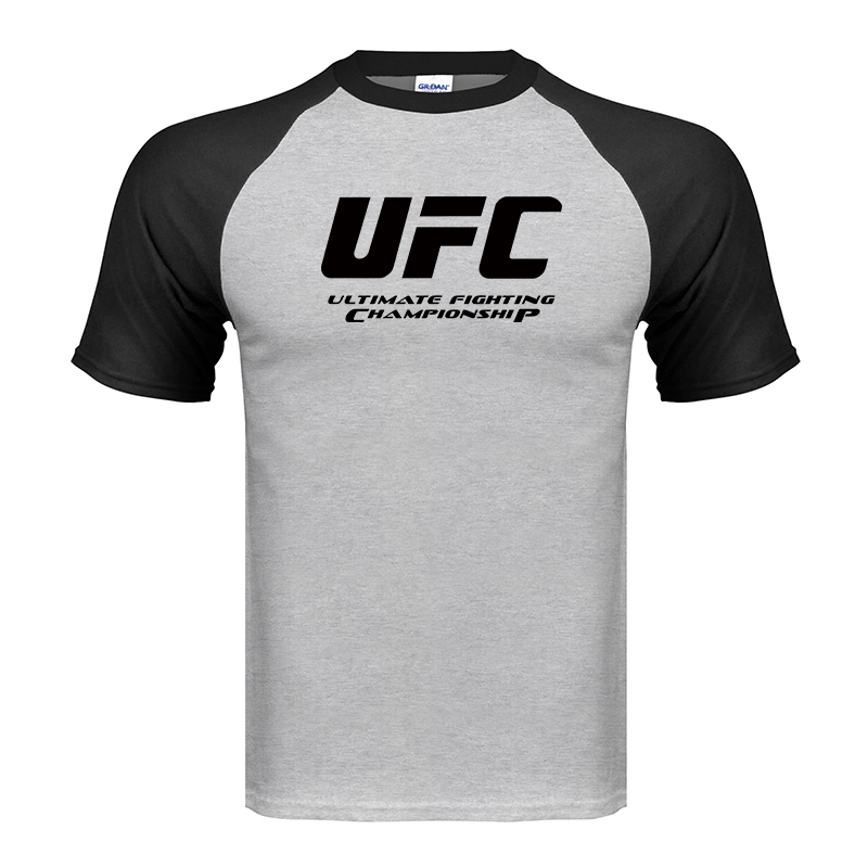 Ultimate Fighting Championship UFC men t Shirt 2019 100% cotton t Shirt 2019 Euro Size S-XXL Tops Casuals t-Shirt men(China)