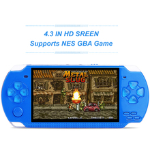 MP5 Game Player 8GB Support GBA NES Game Built in Thousands Free Games Handheld Game