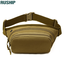 Tactics Waist Pack Men Women Fanny Pack Bum Bag Hip Money Belt Travelling Mountaineering Bicycle Mobile Phone Bag Hunting bag
