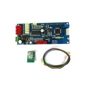 Image 5 - Lusya 3 Way wejście Audio 4 kanałowy PT2313 dźwięk cyfrowy pokładzie z wyświetlaczem LCD dla samochodów osobowych poza LM1036 NE5532 przedwzmacniacz A5 016