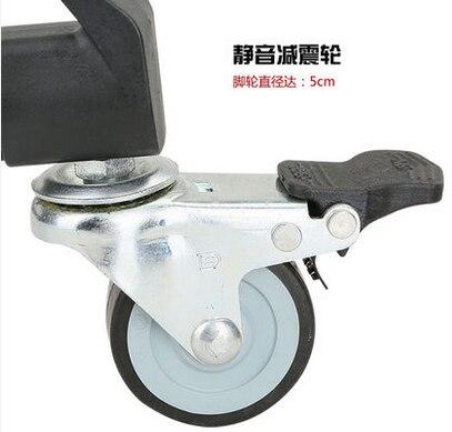 CD50 Pro 3 колеса шкив Универсальный складной для камеры штатив Долли подставка держатель шкива weifeng 717 штатив Долли для видео