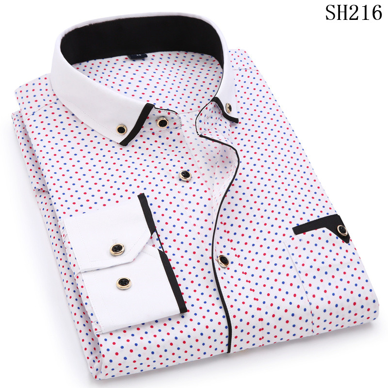 HTB1DqXrSH2pK1RjSZFsq6yNlXXa9 - Fashion Print Casual Men Long Sleeve Shirt Stitching Fashion Pocket Design
