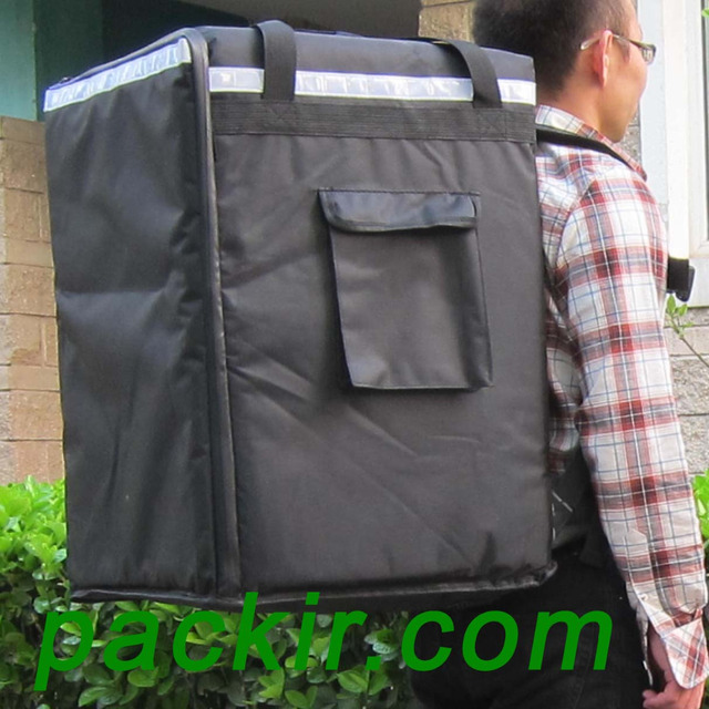 Pk 96z Catering Delivery Backpack Extra Large Pizza And Food Take Out Bag
