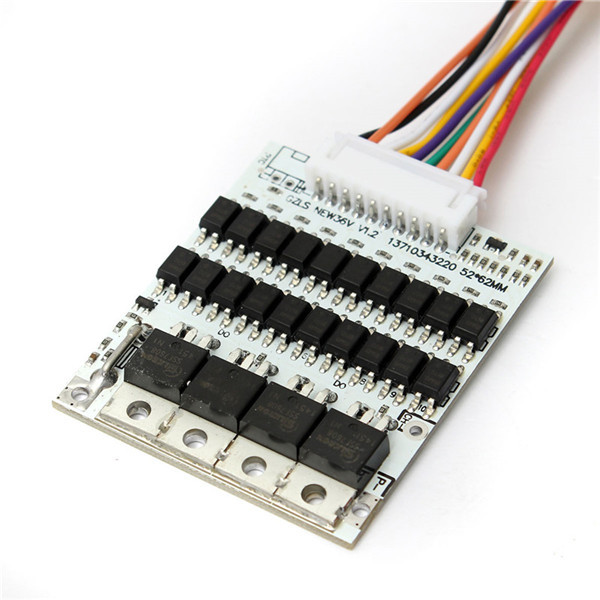 Brand New High Quality Battery Protection BMS PCB Board For 10 Packs 36V Li-ion Cell Max 40A w/ Balance