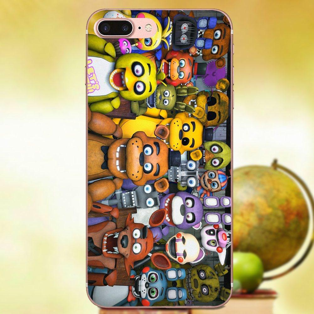 Print Phone Case Sfm Fnaf Animatronics For Huawei P7 Honor 4C 5A 5C 5X 6 6C  6A 6X 7 7X 8 9 V8 V10 Y3II Y5II Y6II G8 Play Lite