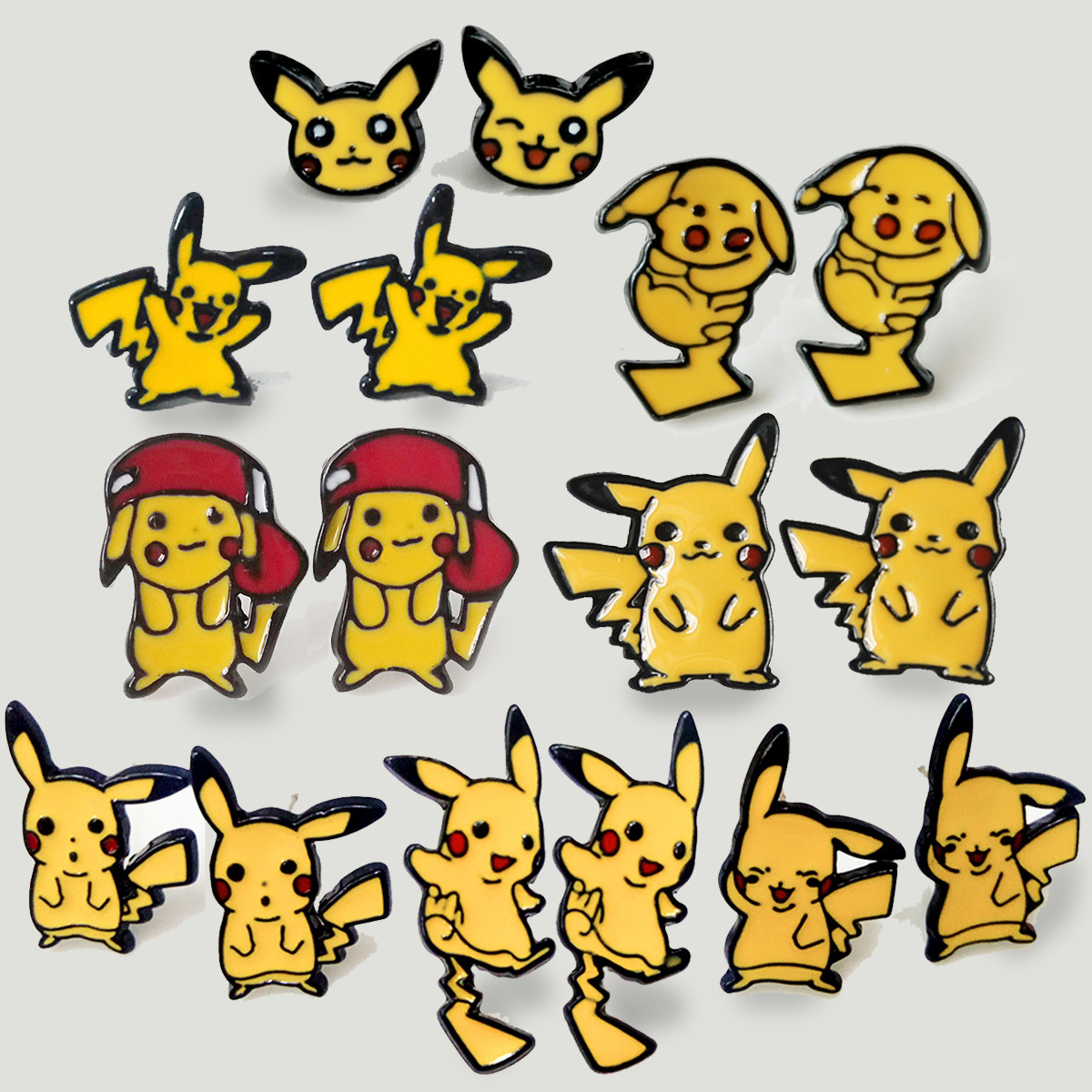 ohcomics-1-pair-pocket-monster-cartoon-font-b-pokemon-b-font-pikachu-earring-stud-enamel-yellow-earrings-ear-stud-jewelry-girl-kids-gifts