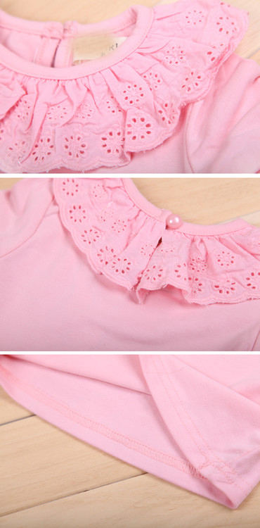 Summer-Breathable-Cute-Lacework-Kid-Baby-Jumpsuit-Bubble-Sleeve-Ruffled-Lace-Collar-Bodysuit-Shirt-4