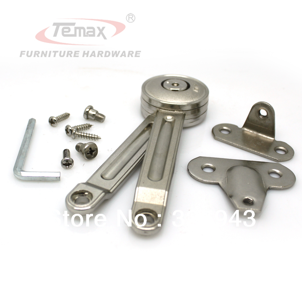 furniture hardware reverse door fittings soft close lift up flap stay support system for cabinet cupborad