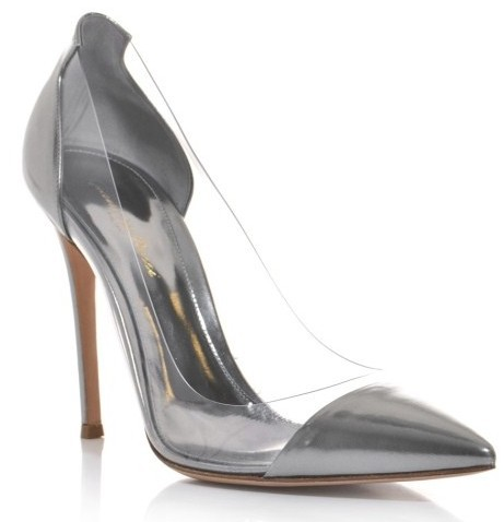 9935ccec03d Free shipping 2014 same to Gianvito Rossi women pumps gray patent leather  genuine leather high heels spring summer pumps