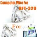 Бесплатная Доставка Груза падения XFT Массаж Провода Электрода Pad Connector Провод Для Десятки Машин Digital Массаж XFT-320