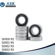 Bearings 6900 6901 6902 6903 ( 1 PC) 440C Stainless Steel Rings With Si3N4 Ceramic Balls Bearing S6900 S6901 S6902 S6903 цена и фото