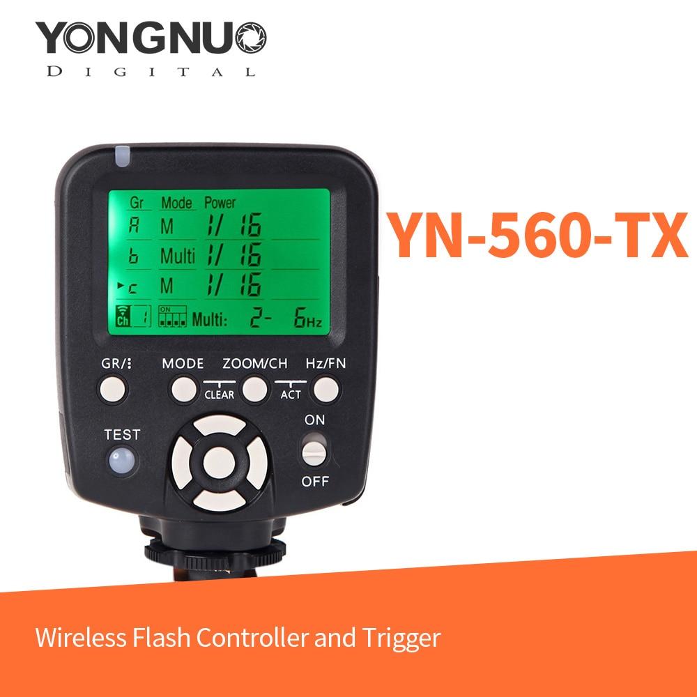 Yongnuo YN560-TX C անլար Flash վերահսկիչ և ձգան - Տեսախցիկ և լուսանկար - Լուսանկար 1