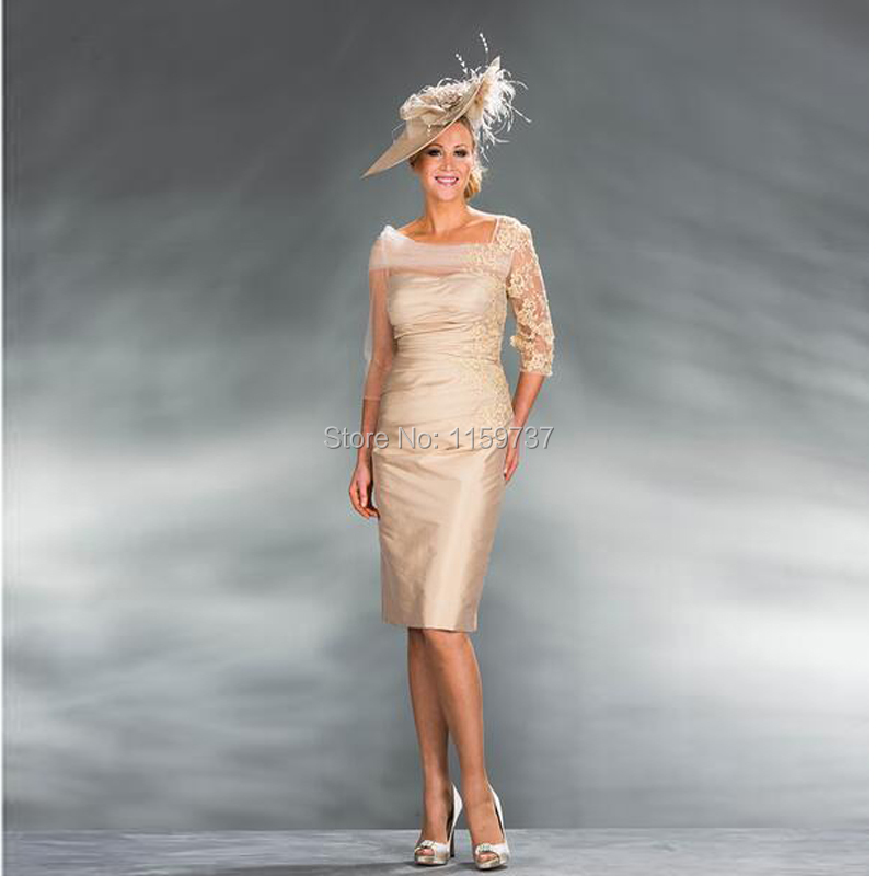 Popular Mother of The Bride Dresses Knee Length-Buy Cheap Mother ...