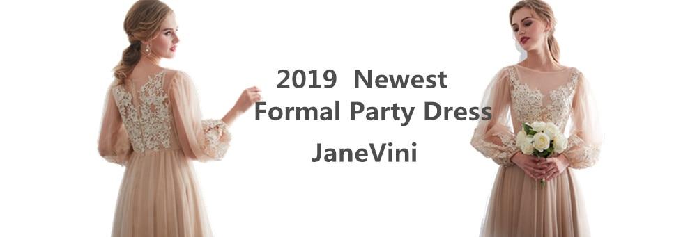 Janevini vestido de baile de sereia, elegante,