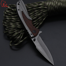 Dcbear X43 Folding Pocket Knife 3CR13MOV Blade Combat Outdoor Camping Knife Tactical Survival Hunting EDC Tools Rescue Knives