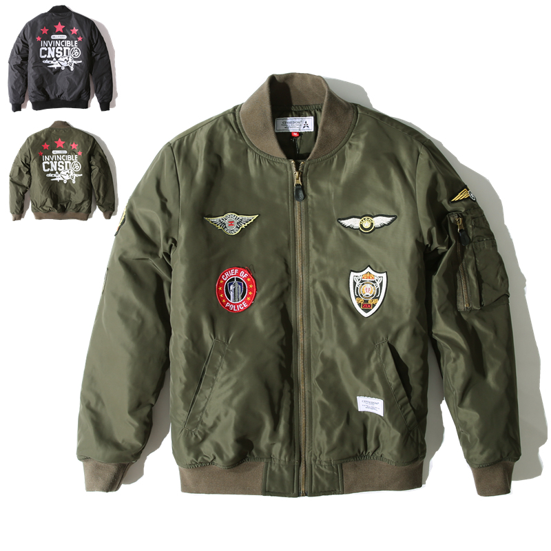 Bomber Military Jacket - JacketIn
