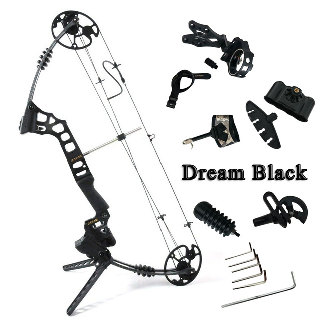 The Dream Camoblack Compound Bow Right And Left Hand Outdoor