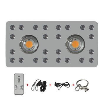 Idea light  Dimmable COB LED grow lights 900W with Cree 3590 Leds and 24pcs Full spectrum  for Greenhouse Hydroponics tangspower 1200lm cree xml u2 4 leds 3 modes white light aluminum led flashlight
