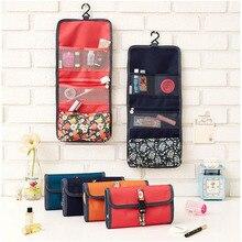 Hanging Travel Toiletry Bag for Makeup Waterproof Cosmetic Bag Travel Toiletry Bags Organizer Small Fashion Floral Makeup Bag