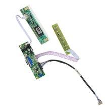 범용 LCD VGA LVDS 컨버터 컨트롤러 보드 키트 DIY 20 핀 M150XN07 CCFL 패널