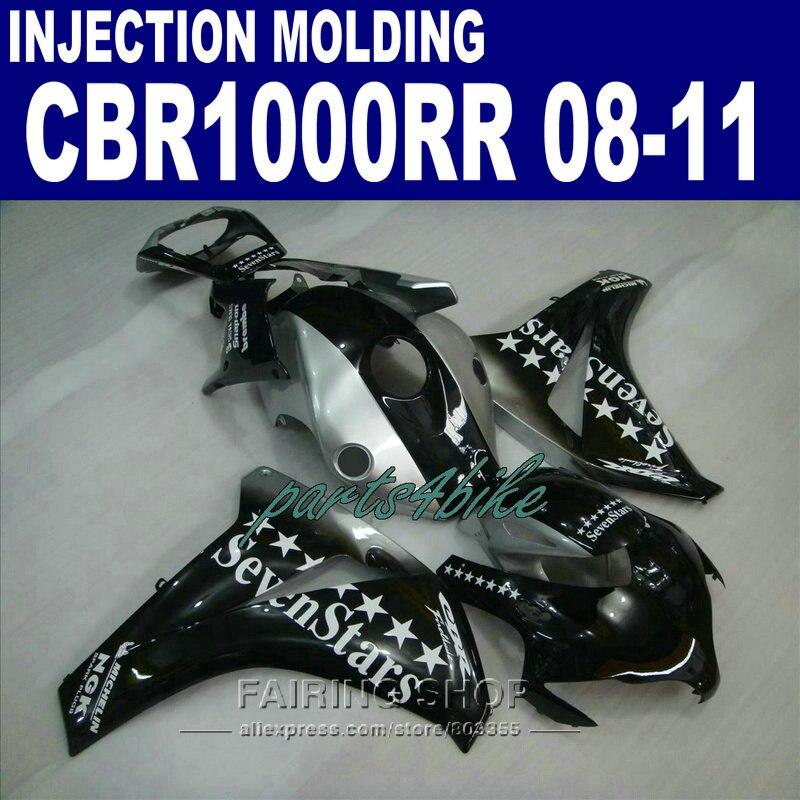 CBR1000RR 2009 2008 Fairing kit For Honda 2010 2011 cbr 1000rr 08 09 10 11 Seven star EMS free fairings +7gifts 2