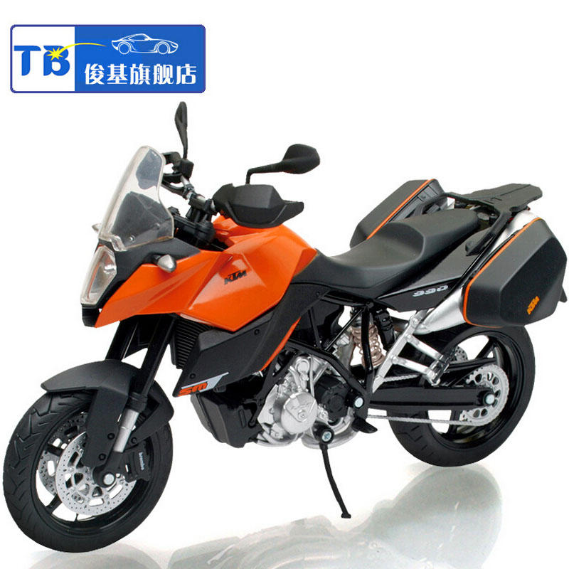 112 kids moto cycle ktm 990sm t diecast off road mountain motor cycle alloy metal models toys motorcycles race speed car gift