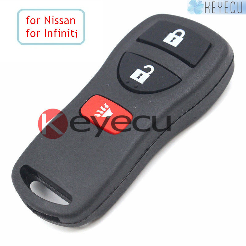 Keyecu Replacement Smart Remote Control Key Fob 3 Button 315MHZ for Nissan Pathfinder Murano Quest Xterra Infiniti 2002-2009