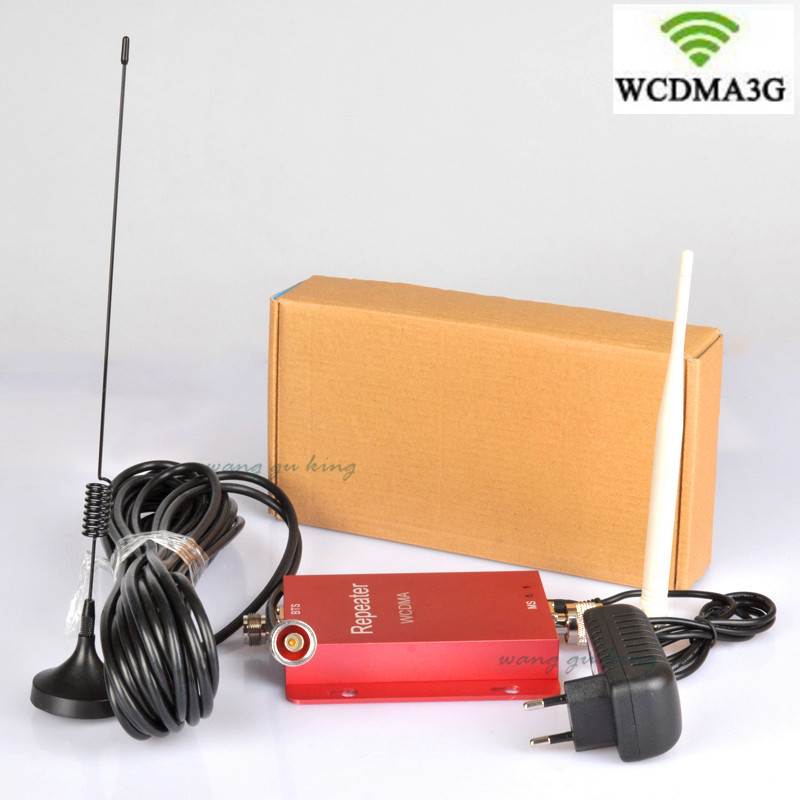 500 Square Meter Work,3G Repeater , 2100Mhz 3G WCDMA Repeater UMTS Signal Booster ,cell Phone Signal Booster Repeater Amplifier
