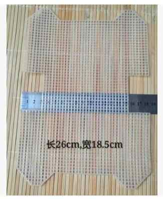 ברור אקריליק ארנק דפוס DIY תפס וו שטיח בד בד DIY רקמת שטיח שטיח ביצוע,