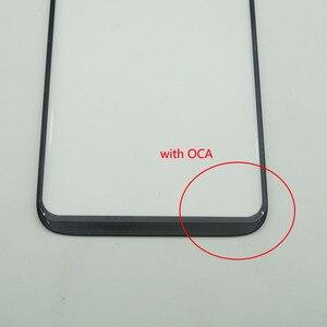 Image 3 - Cristal frontal de pantalla táctil LCD con adhesivo OCA para Samsung Galaxy s8 G950 / S8 + S8 Plus G955, 5 unidades/lote