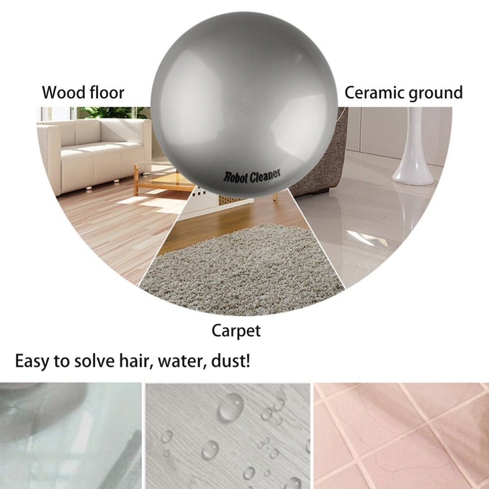 Intelligent Robot Vacuum Cleaner Automatic Mini Sweeping Machine Intelligent Robot Vacuum Cleaner with Suction Dry and Wet Mop