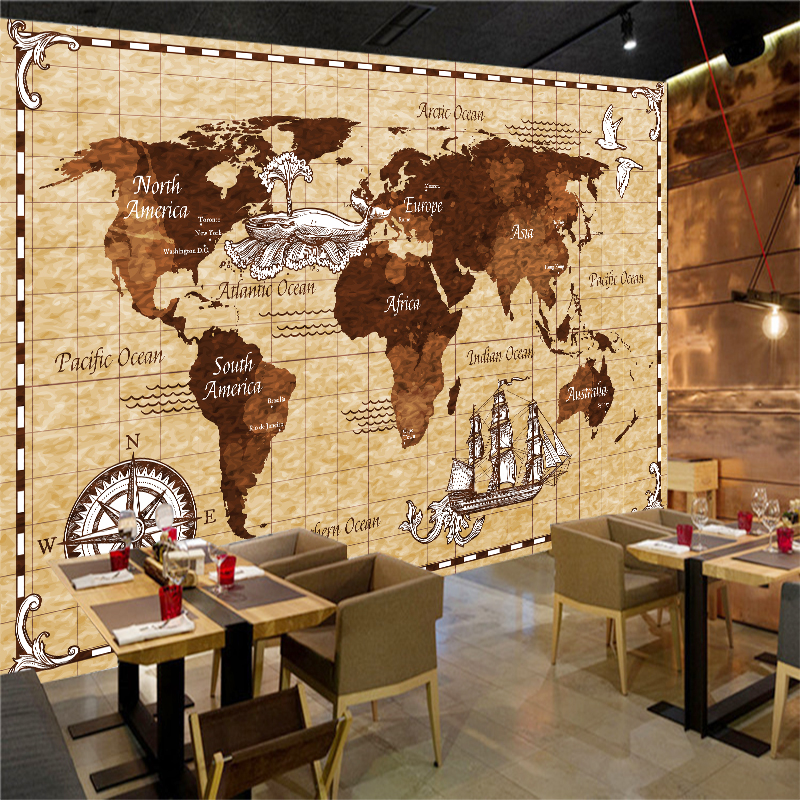 Custom Any Size 3d Wall Mural Wallpapers Modern Fashion Nautical