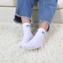 1Pair unisex comfortable socks solid color cotton slippers short breathable elastic soft
