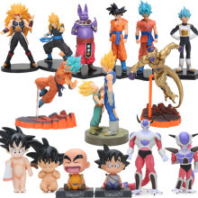 2 pcs Deus Beerus Super Saiyan Goku Son Goku Vegeta Trunks Ação PVC Figures Set Dragon Ball Z DXF Collectible modelo Bonecas Brinquedos(China)