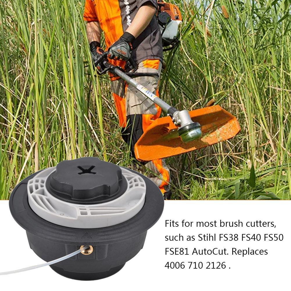 Trimmer Head Brush Cutter Head Thread Line For Stihl Autocut C6-2 FS38 FS40 FS50 FSE81/1.25LH Lawn Mower Grass Garden Tools