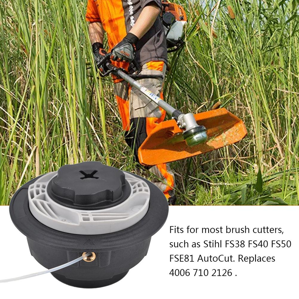 Trimmer Head Brush Cutter Head Thread Line For <font><b>Stihl</b></font> Autocut C6-2 <font><b>FS38</b></font> FS40 FS50 FSE81/1.25LH Lawn Mower Grass Garden Tools image