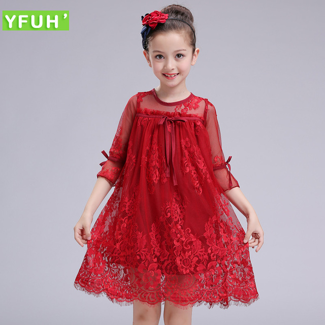 Aliexpress.com : Buy 2017 NewestLace Girls Dress Baby Girl ...