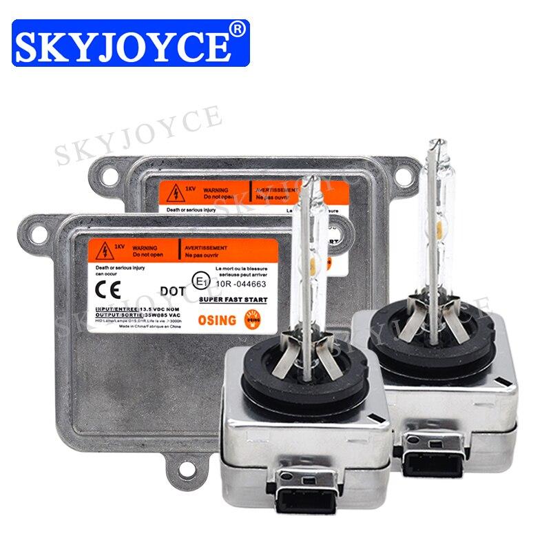 SKYJOYCE Original D1S D3S 6000K HID Headlight Kit 35W 4300K 5000K 8000K HID D1S D1R D3S