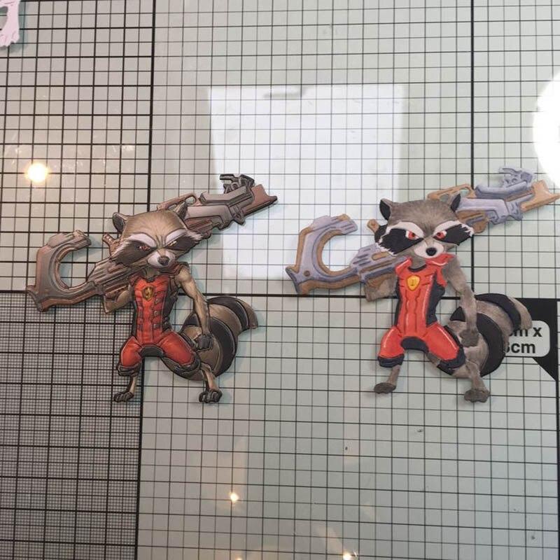 Fox Warrior With A Gun Metal Cutting Dies Stencil Diy Scrapbooking Photo Album D