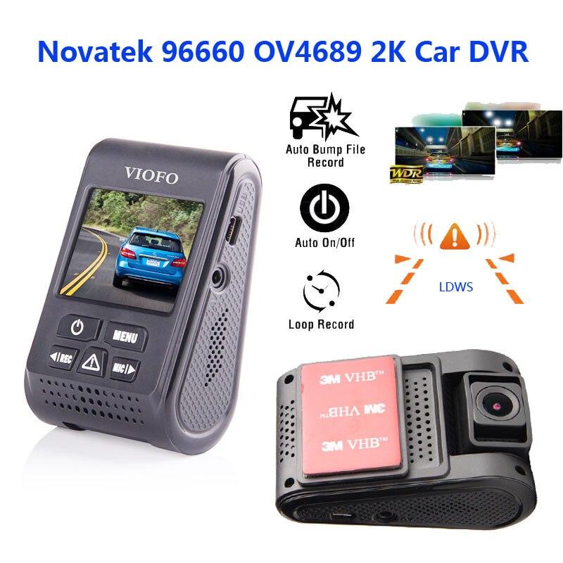 "imágenes para Original VIOFO A119 2.0 ""Pantalla Condensador Novatek96660 H.264 2 K HD 1440 p Tablero de Coches Cámara DVR"