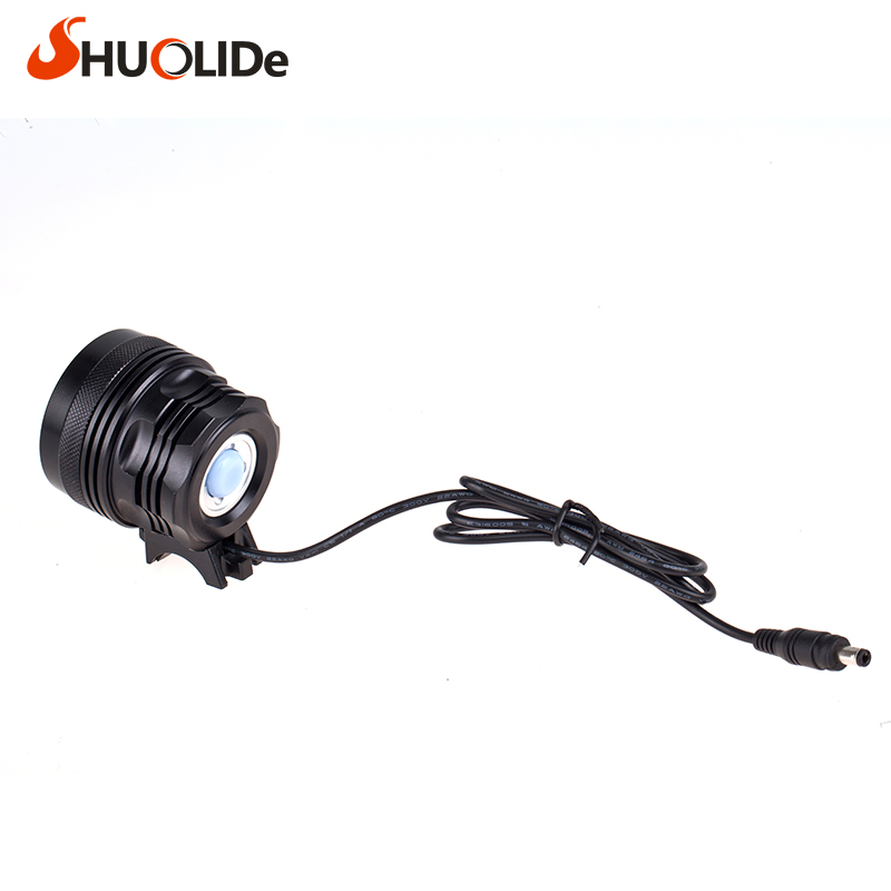 The New Headlight glare CREE 7XML2 U2 Bicycle Light headlight head lamp lampe frontale farol bike linterna frontal bike light 10000lm 6x xml t6 led front head bicycle bike front cycling light lamp head headlight black