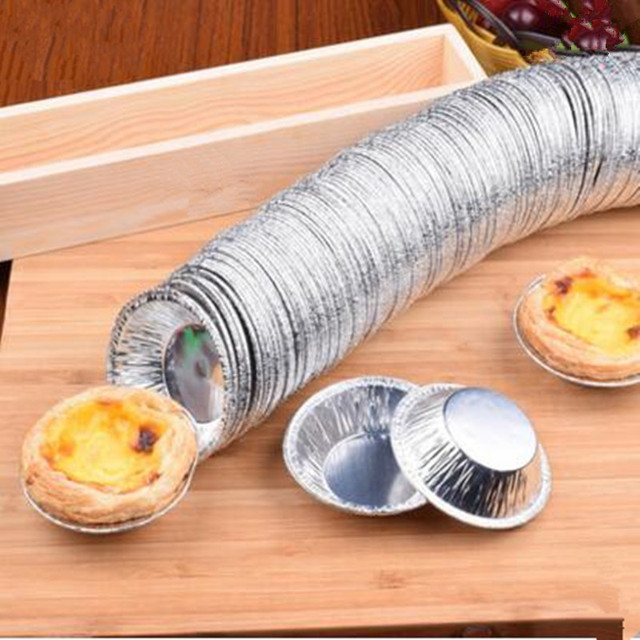 Kitchen Baking Cup Mould Cake Tools Egg Tart Diy Round