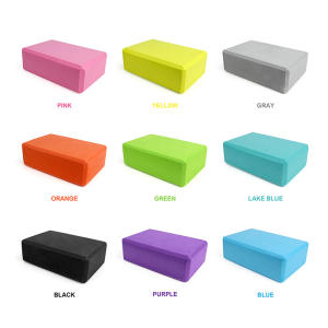 Block-Props Foam-Brick Yoga-Block Exercise Fitness Pilates Stretching Gym Sport Aid