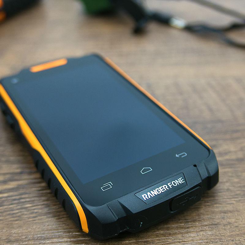 Original Ranger fone S18 impermeable a prueba de golpes a prueba teléfono robusto Android Smartphone MTK6735 Quad Core 4,5 2 GB RAM min 4G LTE GPS - 4